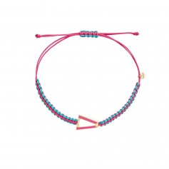 Valentina Ferragni Kate Pink Anklet Bracelet DVF-CAV-01