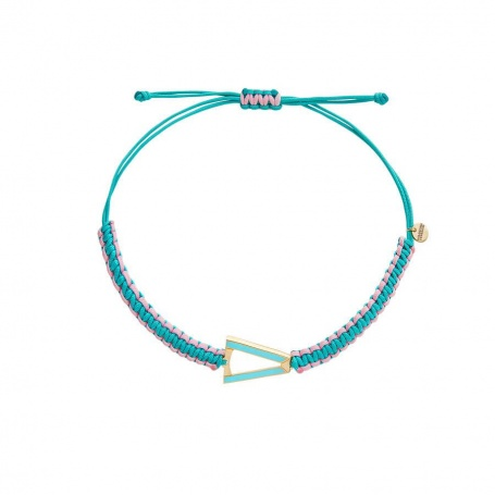 Valentina Ferragni Kate Light Blue Anklet Bracelet DVF-CAV-03