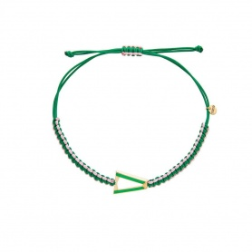 Valentina Ferragni Kate Green Anklet Bracelet DVF-CAV-02