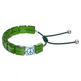 Swarovski Letra Bracelet Green Peace-5615003