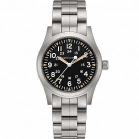 Hamilton Khaki Field Mechanical men's watch in steel H69529133