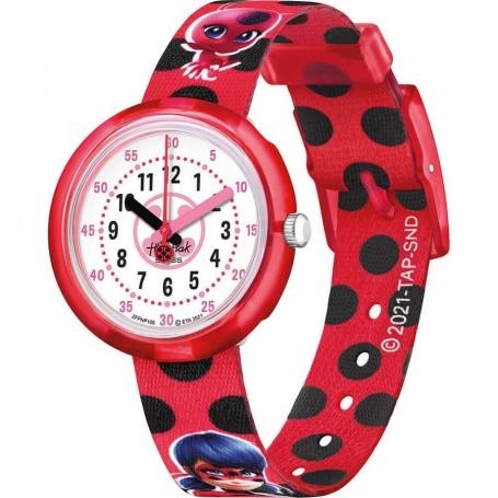 Flik Flak Watches Miraculous Ladybug - FPNP106