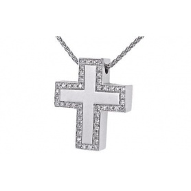 Cross Necklace Salvini - 20030154