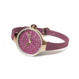 Orologio Cherìe Diamond Vinaccia/rosa - 2483LGD06