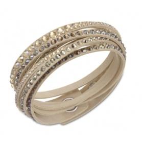 Deluxe Beige Slake Armband-5037392
