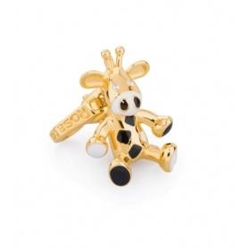 Charm Asinello in argento placcato oro - BB009