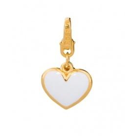 Charm Cuore in argento placcato oro - BB021