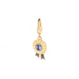 Charm 1 in argento placcato oro - FR001