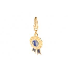 Charme 1 vergoldet Silber FR001