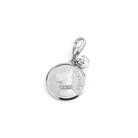 Great Dane-silver charm FR004