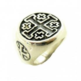 Anello in argento Croce dei crociati - AN442