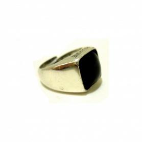 Ring mit Silber und Rauchquarz-AN487