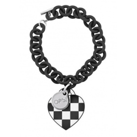 Damier black OPS bracelet-19NE