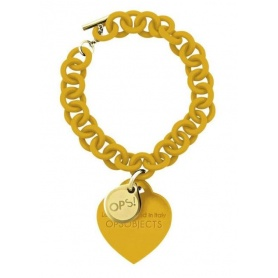 OPS bracelet Love yellow-28SE