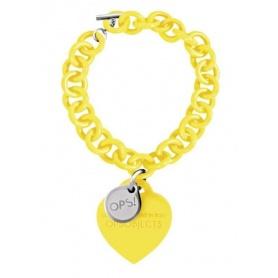 OPS gelb-Love Armband 31GI