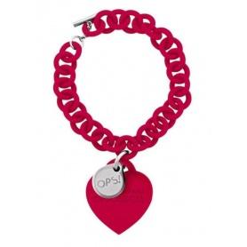 Bracciale OPS Love rosso- 25RO