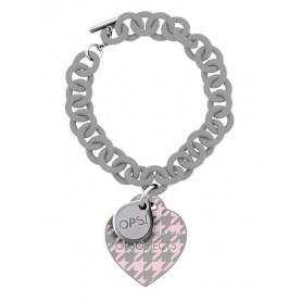 OPS bracelet Houndstooth gray-21 g