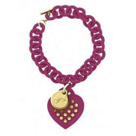 OPS Studs bracelet bordeaux-18BX