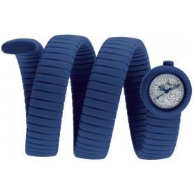 Blaue ToyViper Watch Full Pave-VP09BL