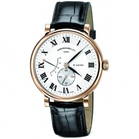8 Tage grand Taille Watch stieg Gold-20023OR