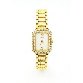 Zenith Watch in gold and diamonds-RXM851750