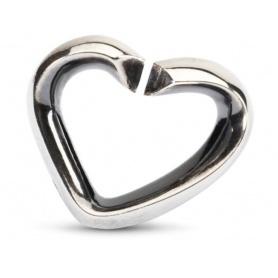 Silver heart X by Trollbeads-2014102001