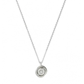 White gold Necklace whit Diamond- 1GD20252G5450