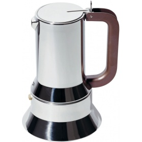 Alessi Espresso coffee maker in stainless steel A9090/M