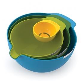 Ciotole miscelazione impostato con separatore uovo - NestTM Mix