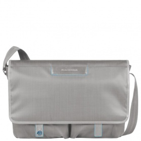 Messenger with notebook and iPad®mini organizer panel Aki - CA3172AK/G