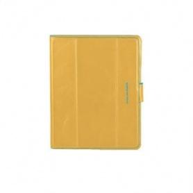Custodia per iPad2 e iPad® linea Blue Square pelle ocra - AC2691B2/GL