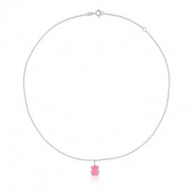 Collana Tous quarzo rosa con pendente - 215434550