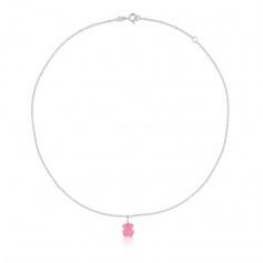 Tous rose quartz necklace with pendant - 215434550