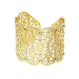 Weibliche Armband Metall und Kristall-Marrakech-1513152