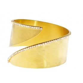 Bracciale New Moon bracciale  in metallo dorato e zirconi - 1512921