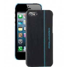 Guscio rigido per iPhone5C in pelle Blue Square - AC3253B2/BLU2