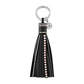 Portachiavi Tayla Deluxe nero frange - 5113156