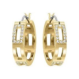 Cubist Hoop Pierced Earrings - 5134069