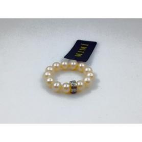 Anello Mimì perle e argento rosa - A023SXR