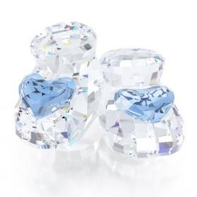 Scarpine da Bebè, Blue cristallo - 5108539