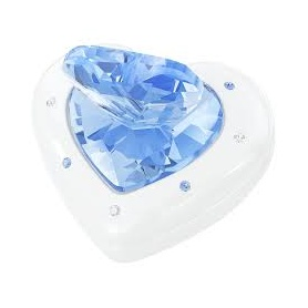 Heart jewel cases blu-5115541