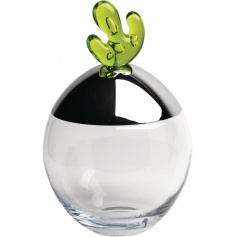 Glass cookie jar and Bigovo steel-JL03-4B