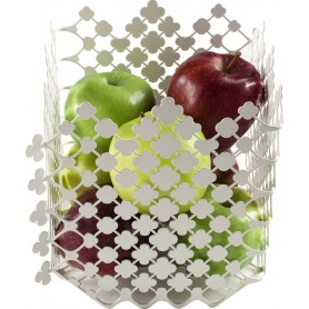 Fruttiera in acciaio colorato Blossom - EMA01W