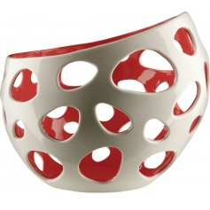 Citrus basket in porcelain Baby - FM20W