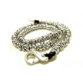 Silver Bracelet knots - SPBR263