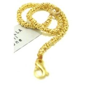 Golden Silver Bracelet knots - SPBR263