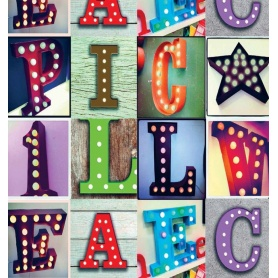 Circus Letter bright letters furniture - BT61