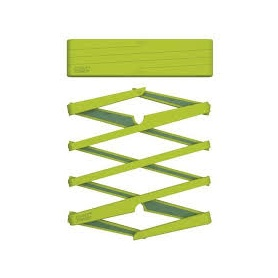 Ausziehbare grün Silikon Untersetzer-70031