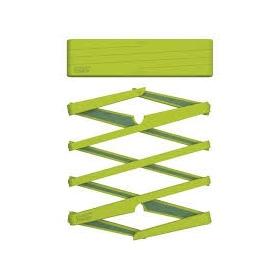 Sottopentola estendibile in silicone verde - 70031