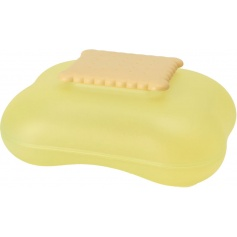 Alessi Mary Biscuit biscuit box Yellow Bud